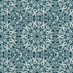 decorative lace geometric seamless pattern. vector illustration