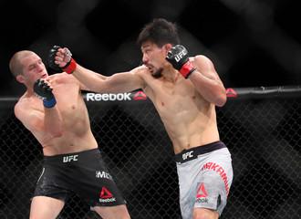 MMA: UFC Fight Night-Nakamura vs Morono