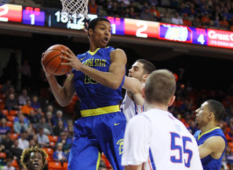 NCAA Basketball: San Jose State at Boise State