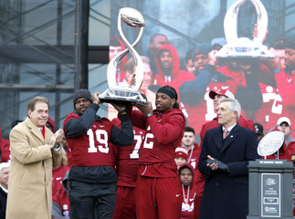 NCAA Football: CFP National Championship-Alabama Parade