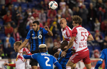 MLS: Playoffs-Montreal Impact at New York Red Bulls