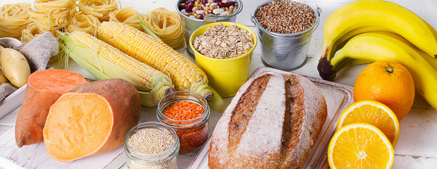 Products rich of carbohydrates