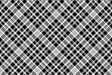 Abstarct check pixel seamless pattern black white