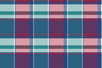 Abstract asymmetrical check plaid seamless pattern