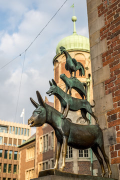 Denkmal der Bremer Stadtmusikanten
