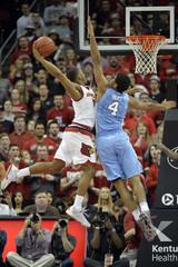 NCAA Basketball: North Carolina at Louisville