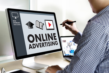 ONLINE ADVERTISING Website Marketing , Update Trends Advertising , Online Business Content Strategy