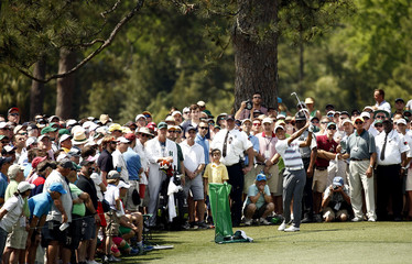 Golf: The Masters-First Round