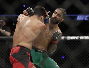 MMA: UFC Fight Night-Quinonez vs Rivas