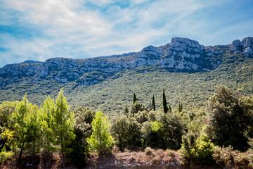 Dans la campagne autour de Caudiès-de-Fenouillèdes