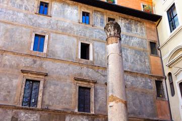 Roma Colonna Piazza De Massimi