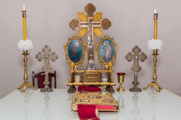 The Altar Of The Orthodox Church