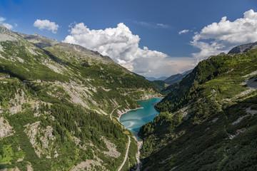 Stausee in Kärnten Österreich Berge
