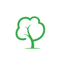 tree letter p logo