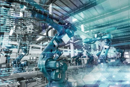 Robot production workshop