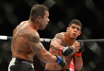 MMA: UFC Fight Night-Prazeres vs Burns
