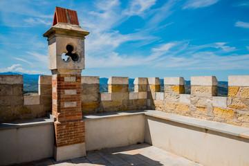 La tour Magdala du Parc de l'Abbé Saunière