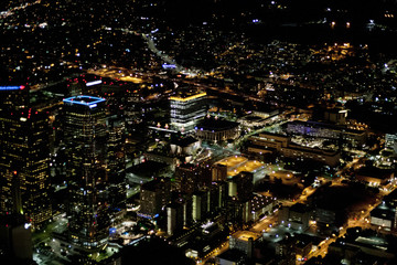 Areal Views; Los Angeles from Above