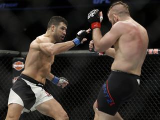 MMA: UFC Fight Night-Lentz vs Castillo