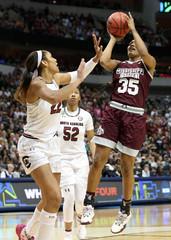 NCAA Womens Basketball: Women's Final Four-Mississippi State vs South Carolina