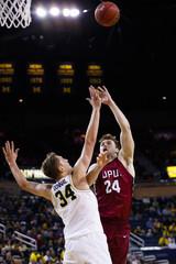 NCAA Basketball: Indiana - Purdue at Michigan