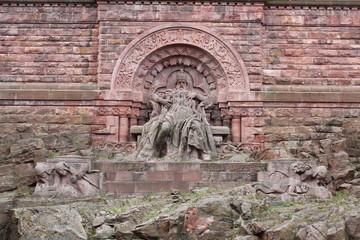 Kyffhäuserdenkmal - Barbarossa (Friedrich I.)