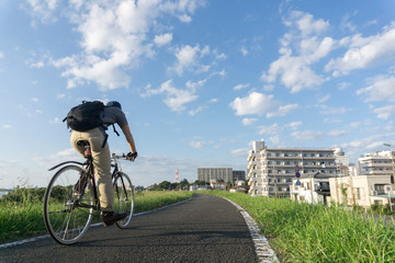 自転車 秋
