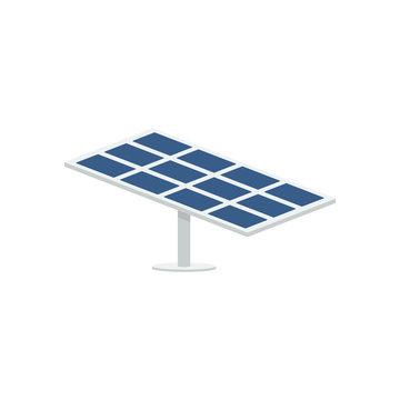 Solar panel vector isolated illustration