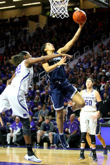 NCAA Womens Basketball: Connecticut at Kansas State