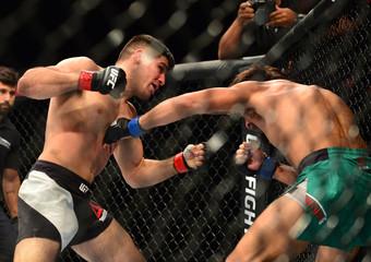MMA: UFC Fight Night-Urbina vs Luque