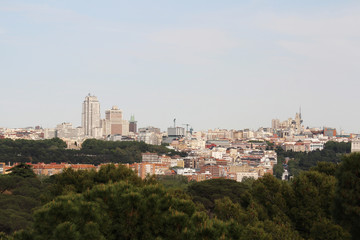 Madrid panorama, Spain
