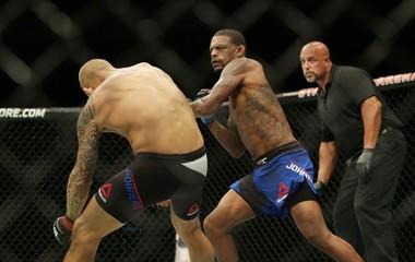 MMA: UFC Fight Night-Poirier vs Johnson