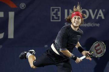 Tennis: Citi Open-Sock v Lacko