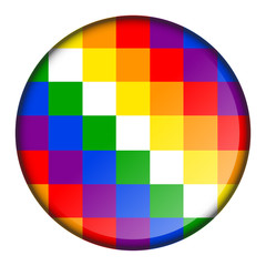 pixelated color button