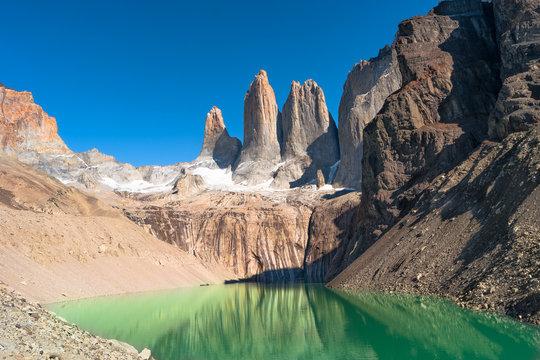 Peaks of Torres del Paine, National Park, Patagonia