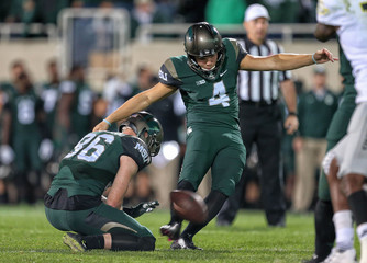 NCAA Football: Oregon at Michigan State
