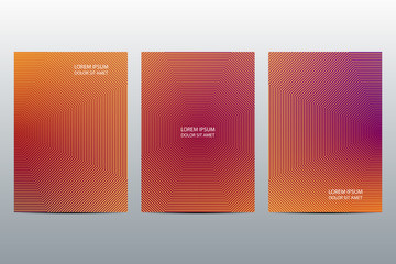Minimal abstract covers design. Poster background. Vector illustration.
