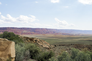 Marble Canyon Hwy 89 between Bitter Springs and Page, panoramic view, summer 2017 - Arizona, AZ, USA