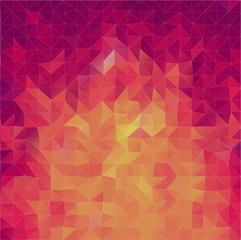 Abstract 2D triangle background