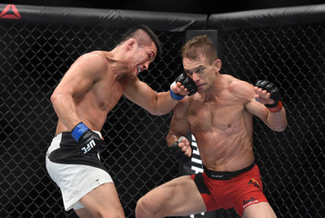 MMA: UFC Fight Night-Hein vs Bang