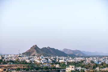 Mountain Range Of Pushkar