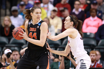 NCAA Womens Basketball: Final Four-Oregon State vs Connecticut