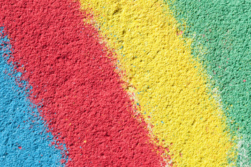 Textured background - blue, red, yellow, green colors