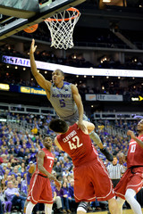 NCAA Basketball: Washington State at Kansas State