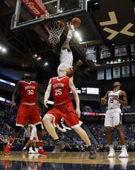 NCAA Basketball: Boston U at Connecticut