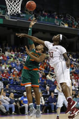 NCAA Womens Basketball: ACC Conference Tournament-Florida State vs Miami