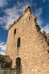 Urquhart castle in summer evening, Scotland