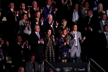 The opening ceremony of the Invictus Games in Toronto, Canada