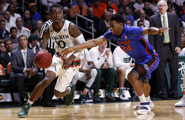 NCAA Basketball: Florida at Miami