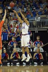 NCAA Basketball: Oregon State at Kansas